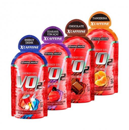 Vo2 Gel X-Caffeine IntegralMedica - Caixa (10 Unidades) (30g/unidade)