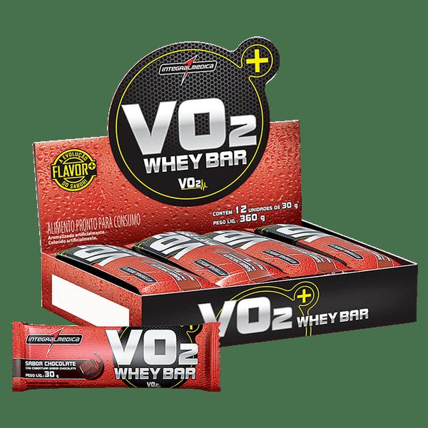 Vo2 Protein Bar IntegralMedica - Caixa (30g/Unidade)