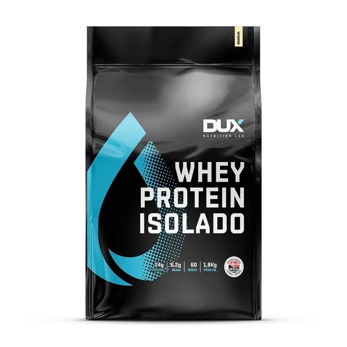Whey Protein Isolado Dux - 1,8Kg(Refil)