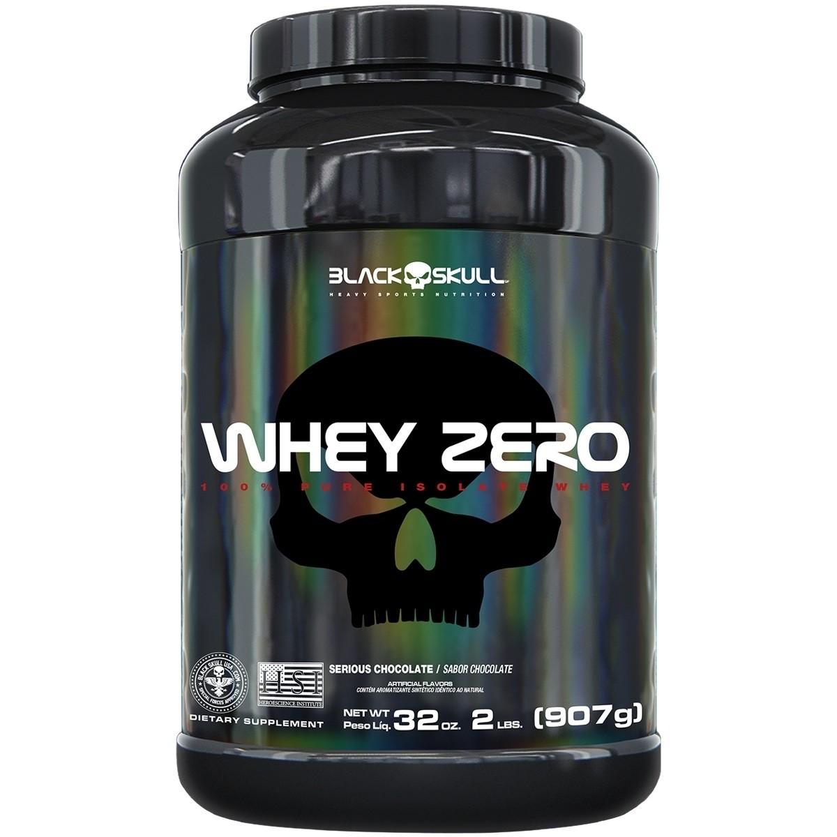 Whey Zero Black Skull - 907g