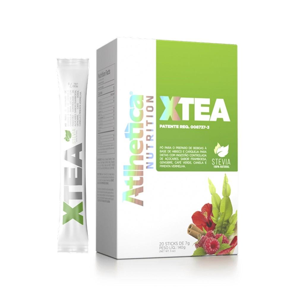 X-Tea - Atlhetica Nutrition - Caixa(20 Sachês)(7g/Sachê)