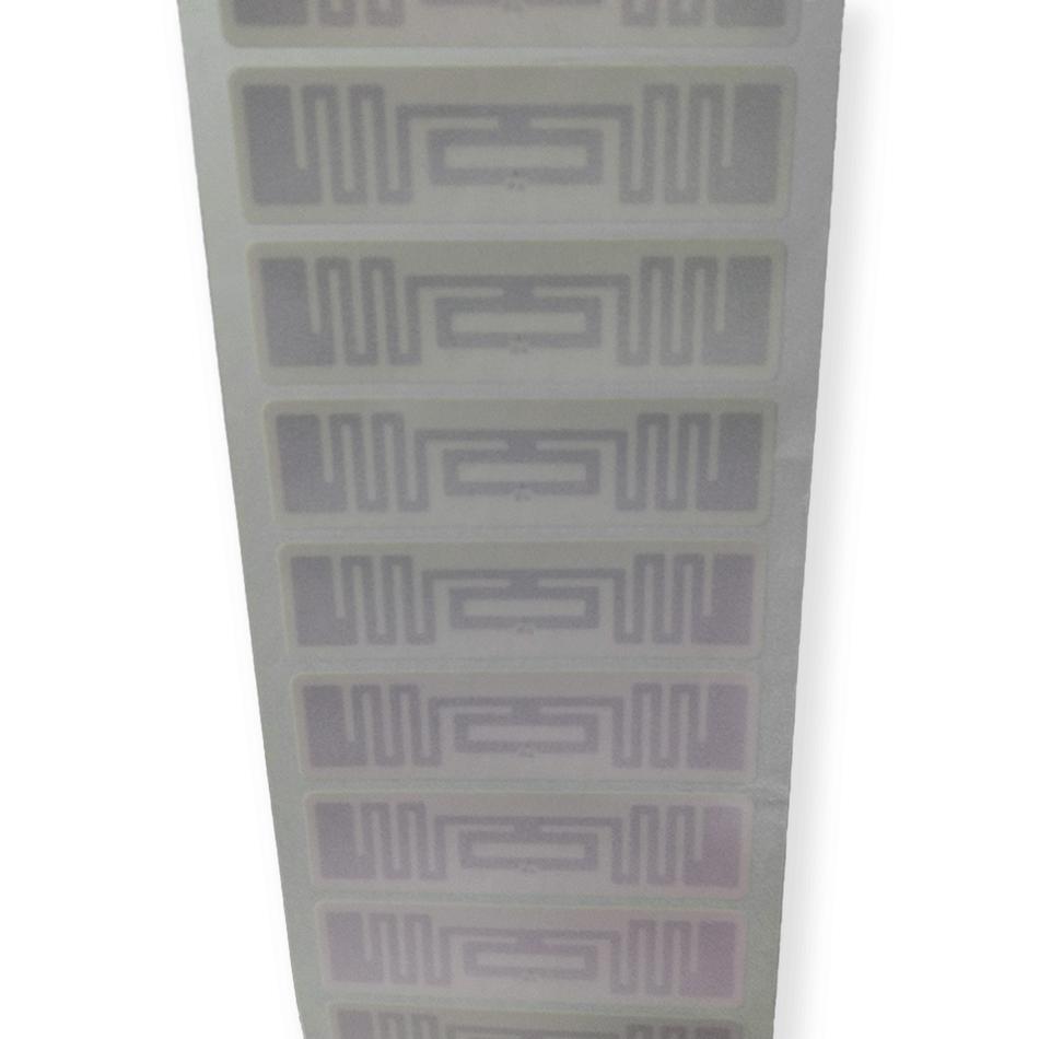 Etiqueta Adesiva RFID UHF 74x20mm -  Monza R6