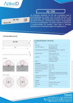 Etiqueta metal Rfid IQ-150