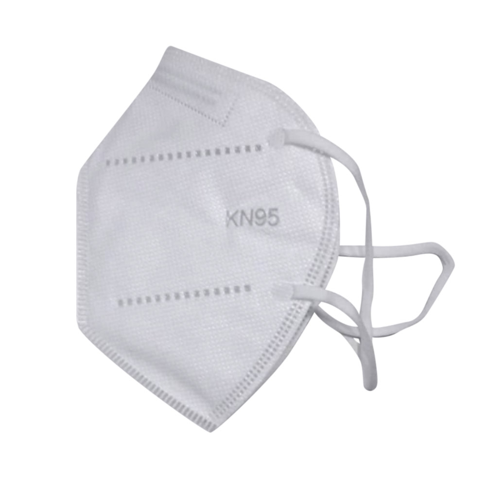 Caixa com 50 Máscaras KN95 (10 pacotes com 5 máscaras em cada pacote)
