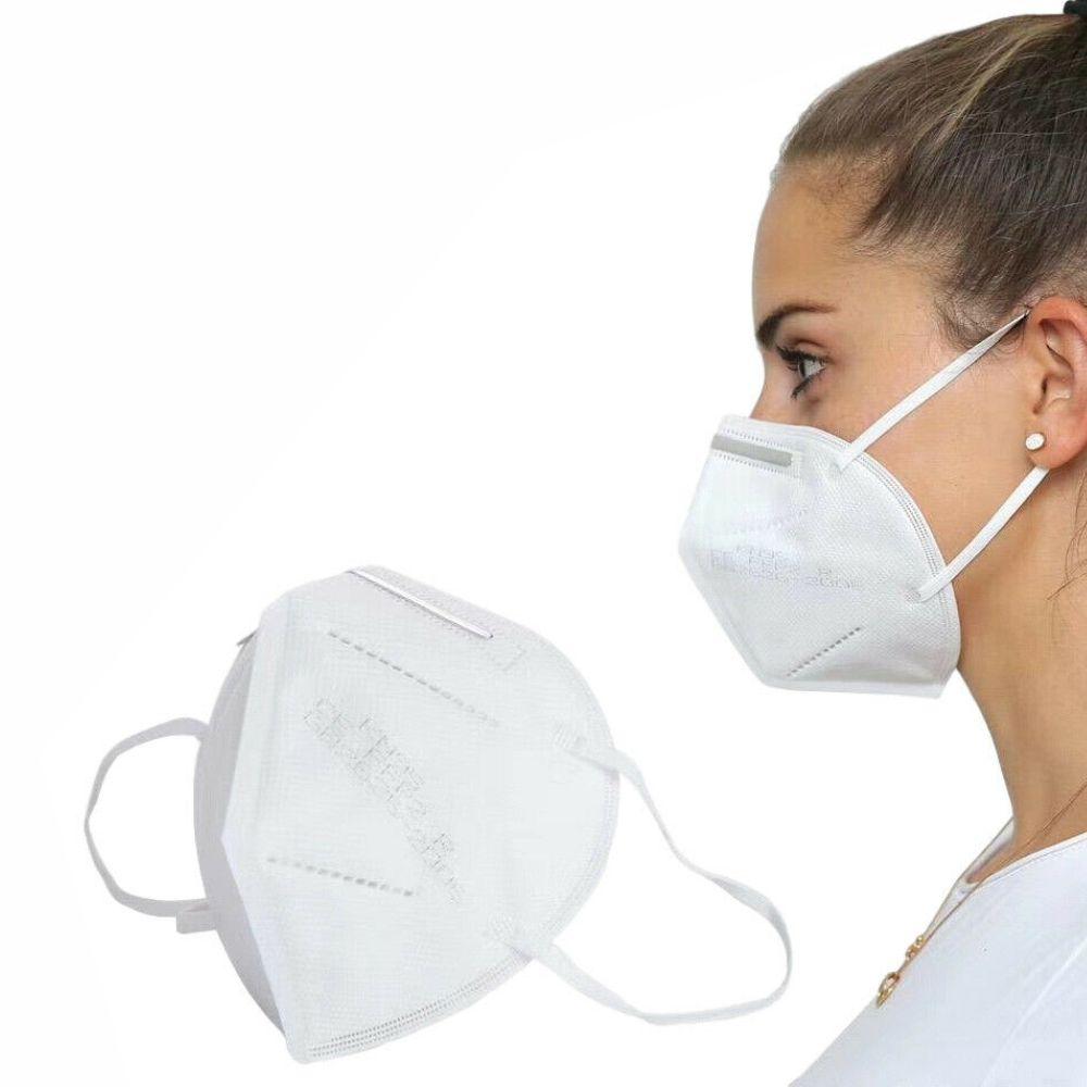 Máscara Facial KN95 3D Nano - 10 Kits com 2 unidades cada kit