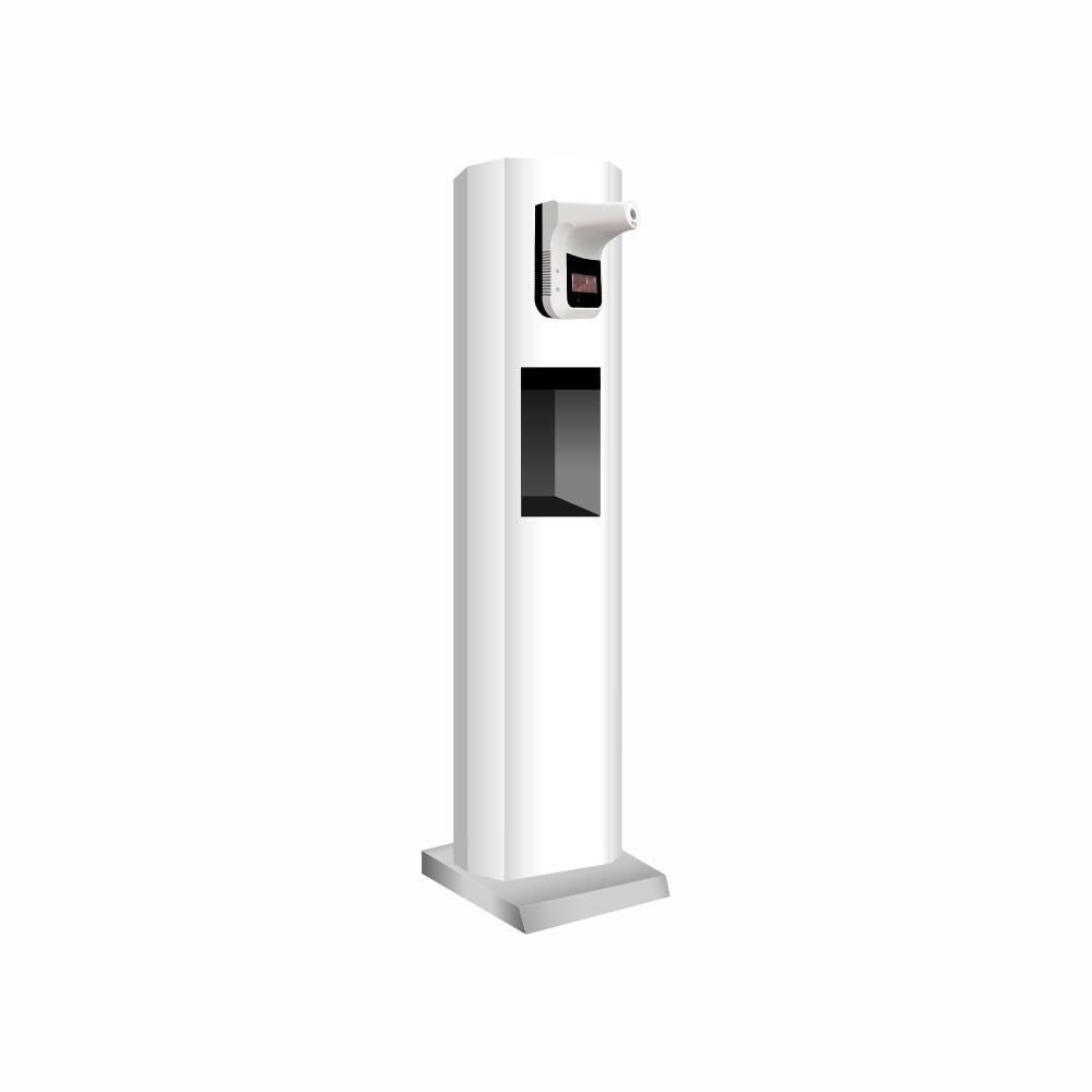 Mini Totem SAT Automatizado com termômetro e dispenser Álcool Gel
