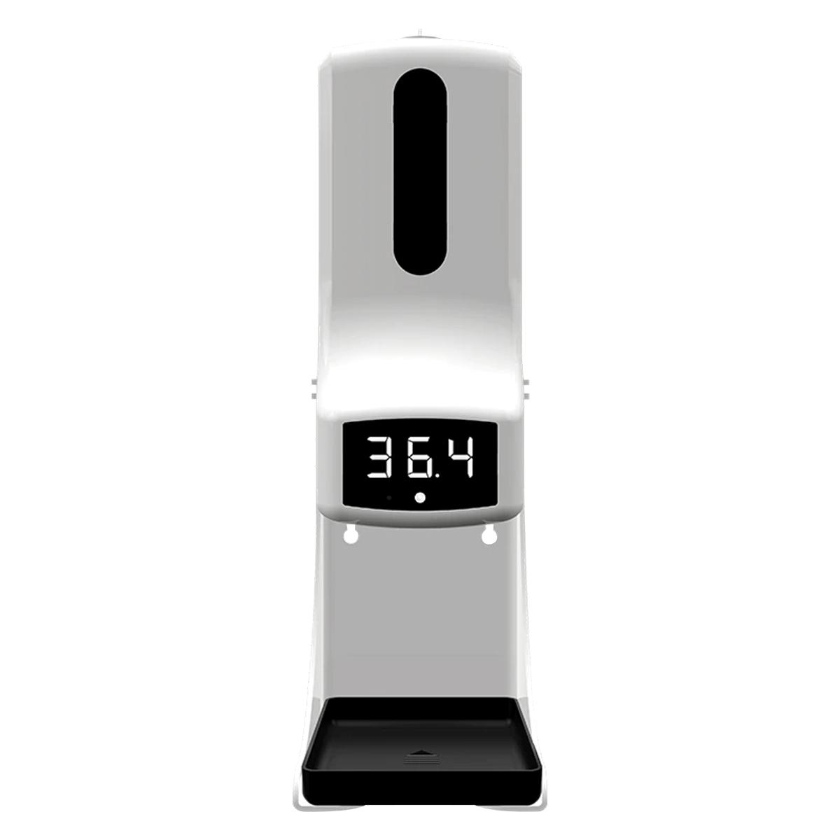 Termômetro Digital TD PRO 2 em 1 com dispenser automático de Álcool Gel - 1 Litro