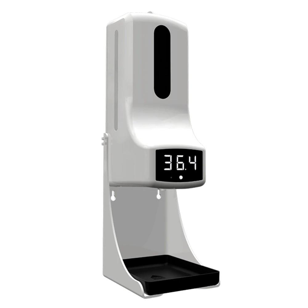 Termômetro Digital TD PRO 2 em 1 com dispenser automático de Álcool Gel ( Fala Português )