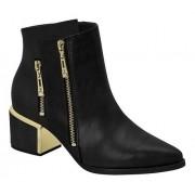 Bota Feminina Ankle Boot Vizzano Zíper