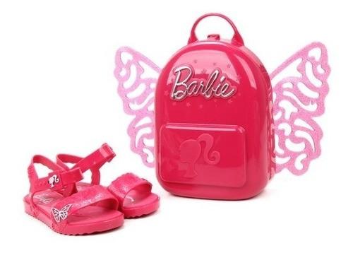 Sandália Infantil Grendene Kids Barbie Bytterfly