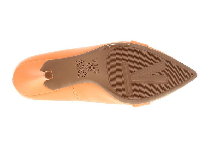 Sapato Scarpin Vizzano Salto Fino Com Aplicações
