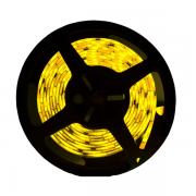 Fita LED 3528 5m / Com Fonte / Amarela