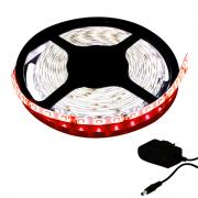 Fita LED 3528 5m / Com Fonte / Vermelha