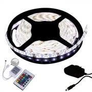 Fita LED 5050 5m/ Com Fonte/ Branco frio