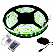 Fita LED 5050 5m/ Com Fonte/ Verde