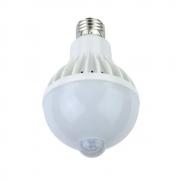 Lâmpada LED 9w Bulbo com Sensor de Presença