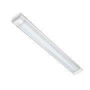 Luminária LED Calha Sobrepor 1,20m 40W / Branco Frio