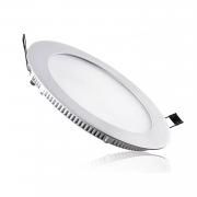 Plafon LED Embutir 12W Redondo / Branco Frio