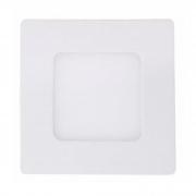Plafon LED Embutir 3W Quadrado / Branco quente