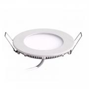 Plafon LED Embutir 3W Redondo / Branco Frio