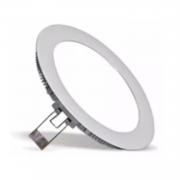 Plafon LED Embutir 6W Redondo  / Branco Frio