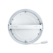 Plafon LED Sobrepor 18W Redondo / Branco Frio