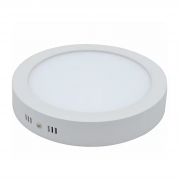Plafon LED Sobrepor 36W Redondo / Branco Frio