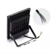 Refletor LED 100W RGB Com Controle