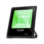 Refletor LED 100W / Verde