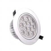 Spot LED 12W Redondo / Branco Quente