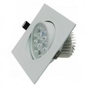 Spot LED 7W Quadrado / Branco Frio