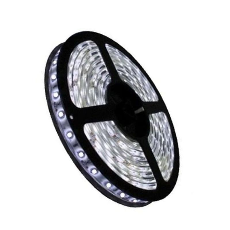 Fita LED 3528 5m / Com Fonte / Branco Frio