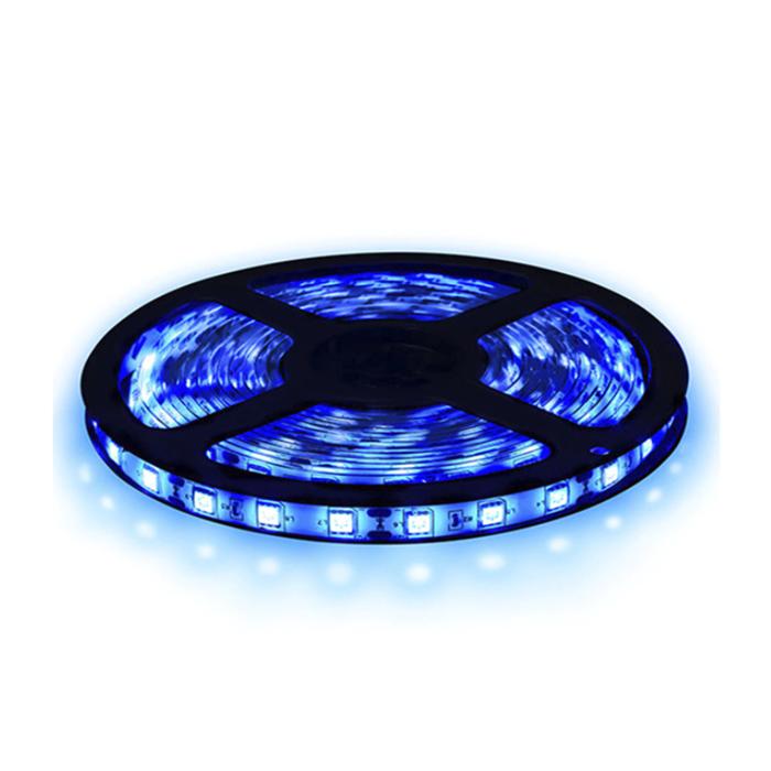 Fita LED 5050 5m/ Com Fonte/ Azul