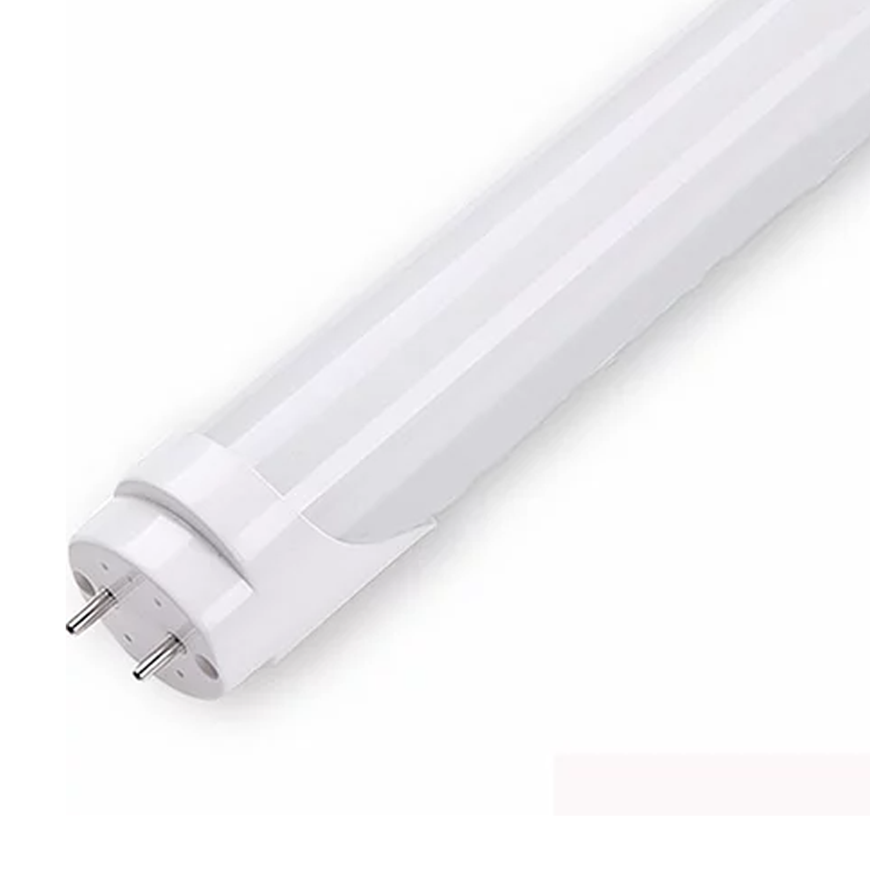 Lâmpada LED Tubular Leitosa/Cristal 9w 0,60m / Branco Frio