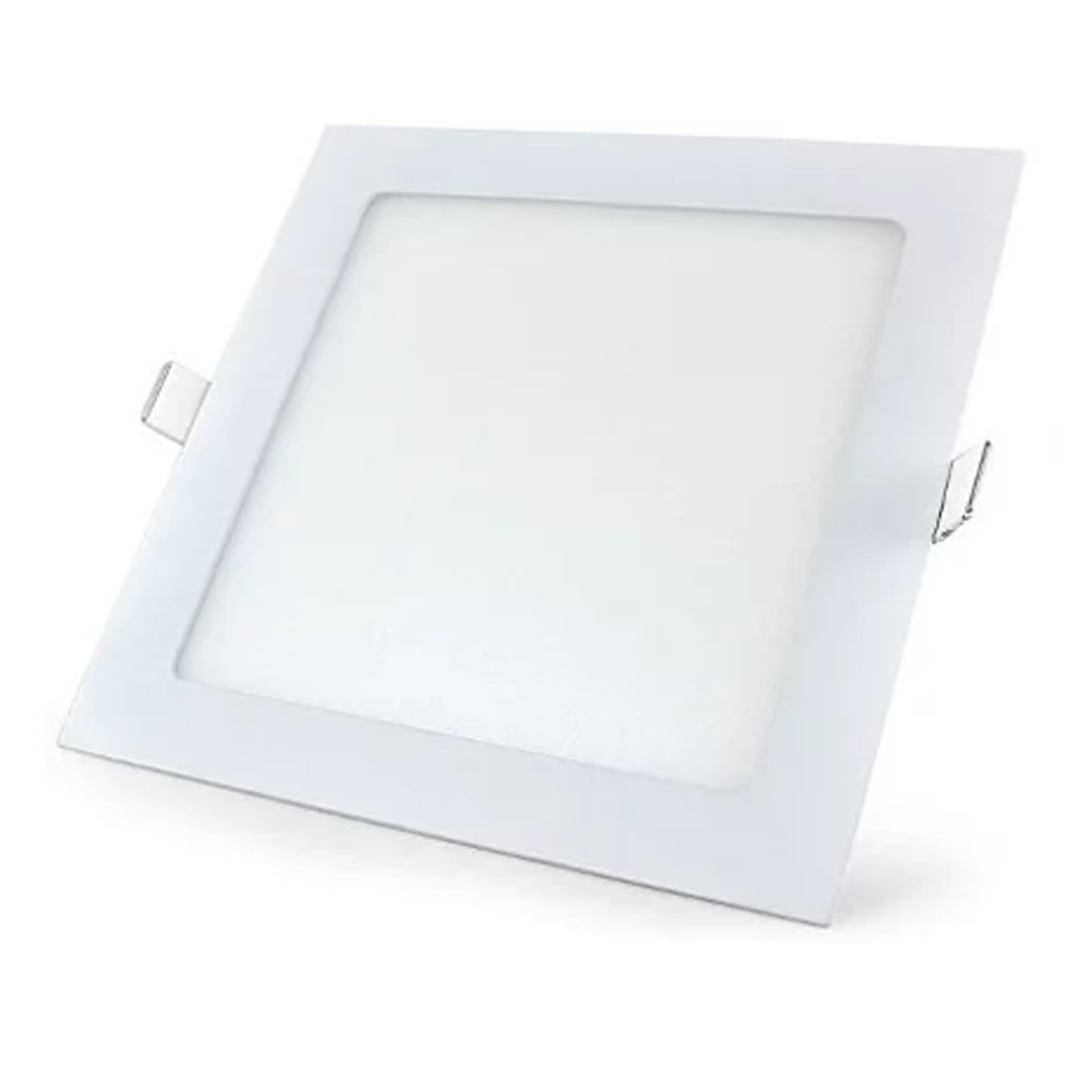 Plafon LED Embutir 12W Quadrado / Branco Frio