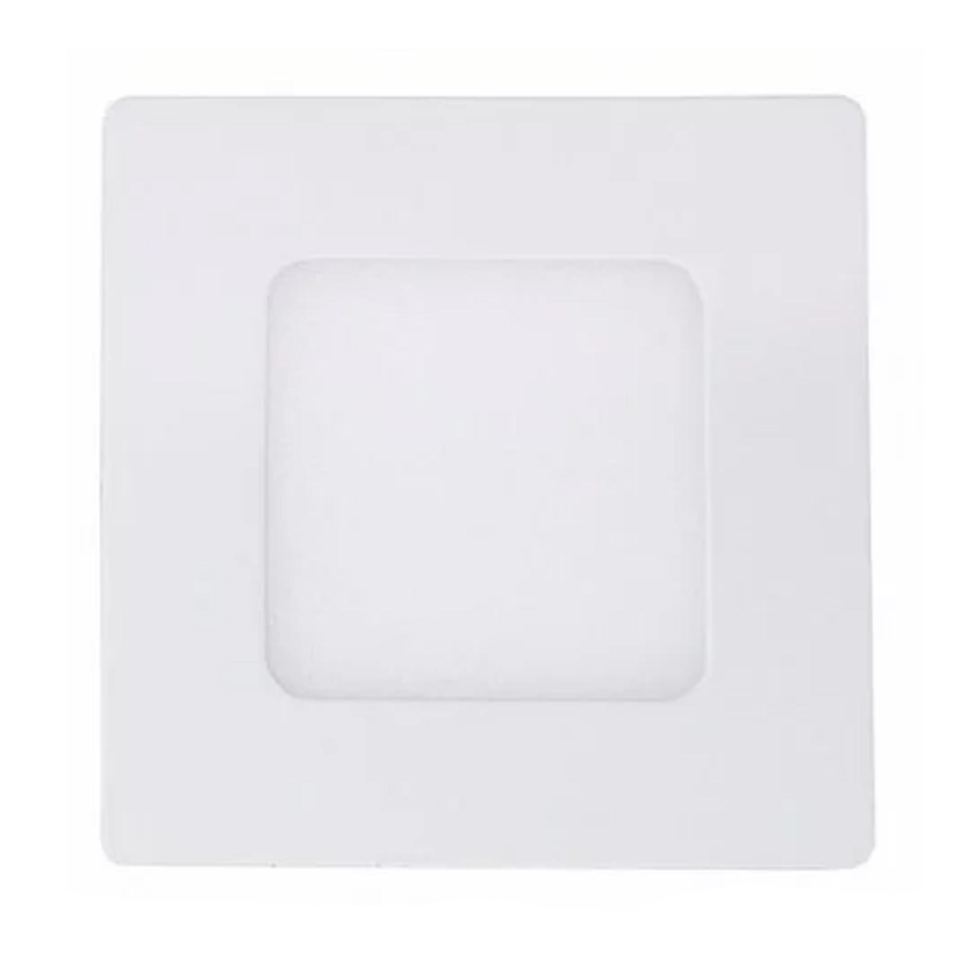 Plafon LED Embutir 3W Quadrado / Branco Frio