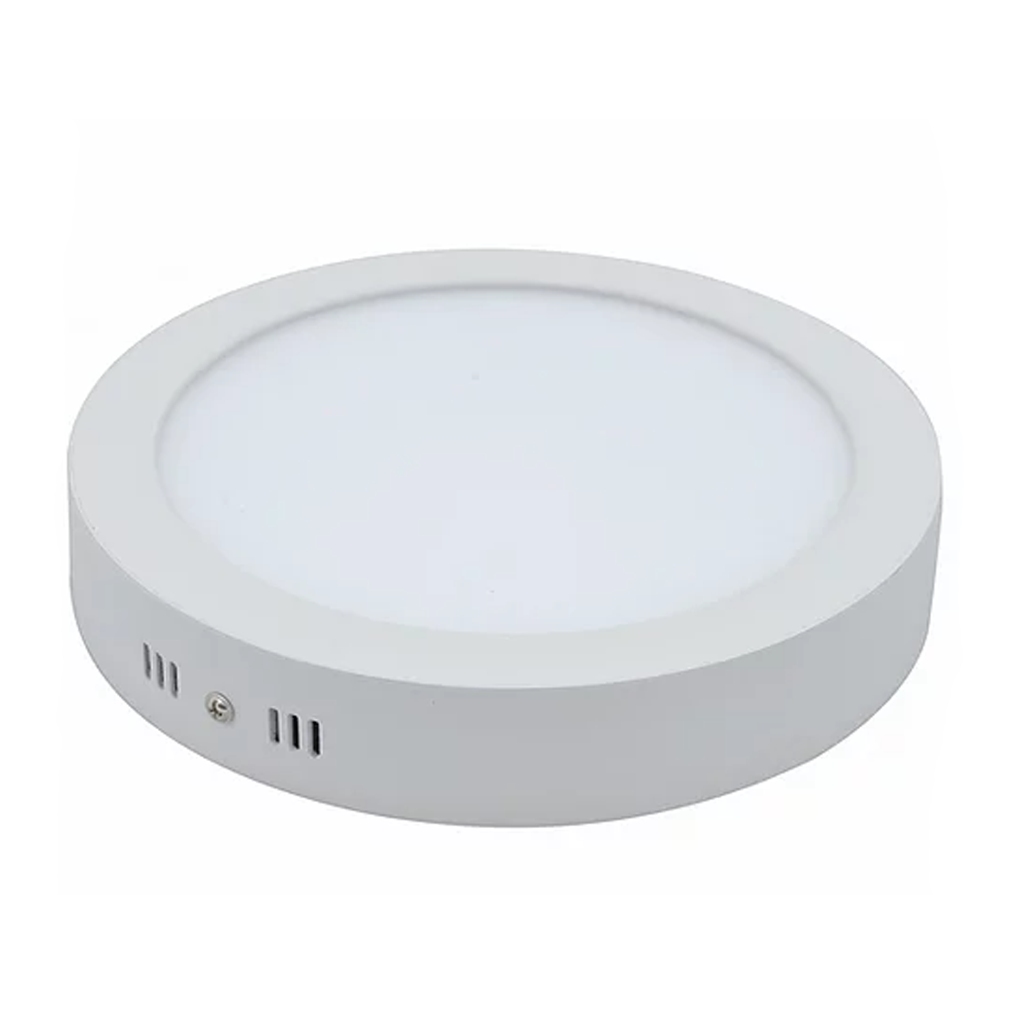 Plafon LED Sobrepor 18W Redondo / Branco Quente