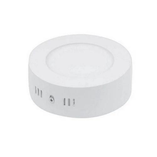 Plafon LED Sobrepor 6W Redondo / Branco Frio