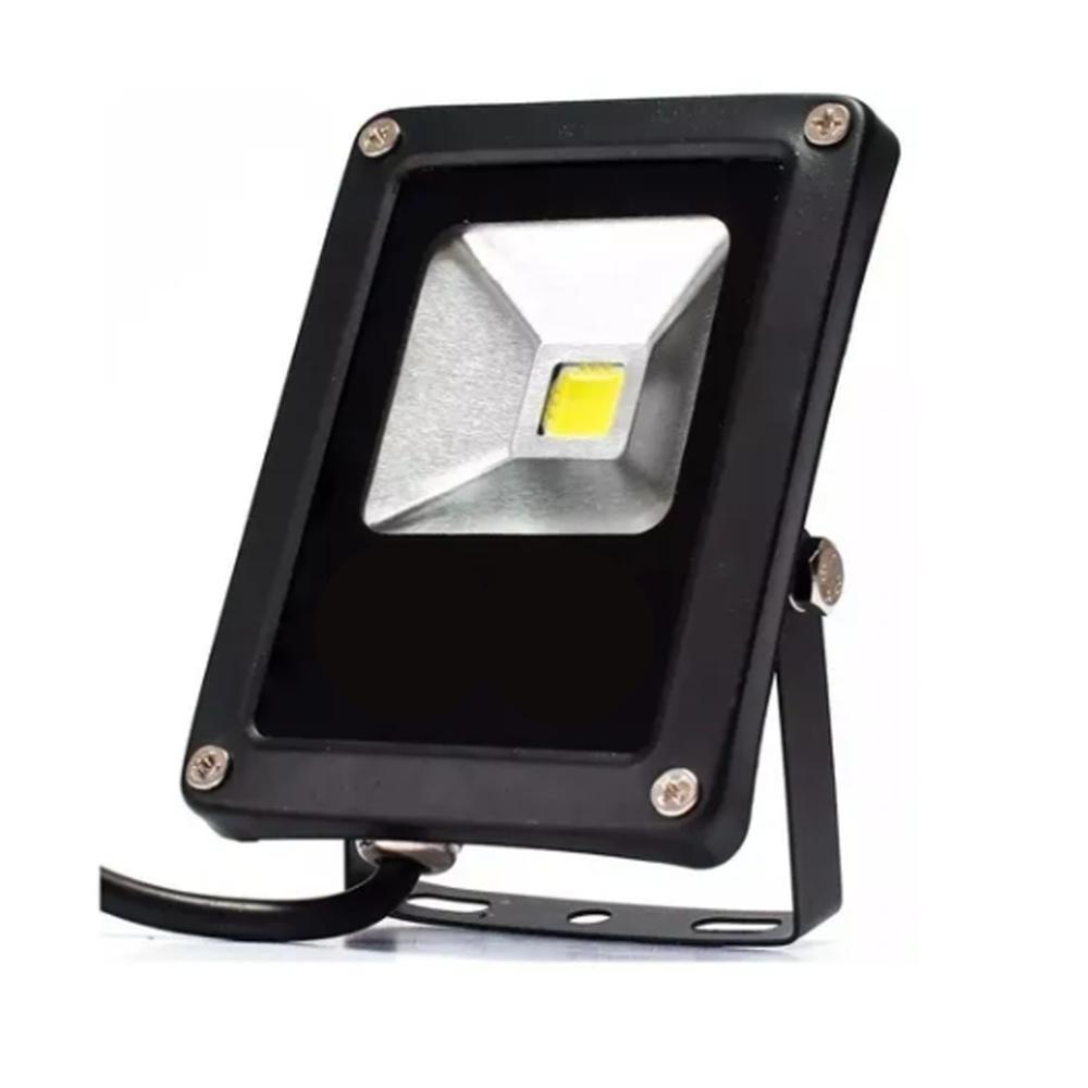 Refletor LED 10W / Branco Quente