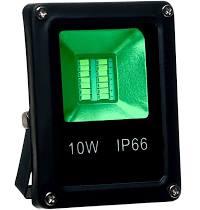 Refletor LED 10W / Verde