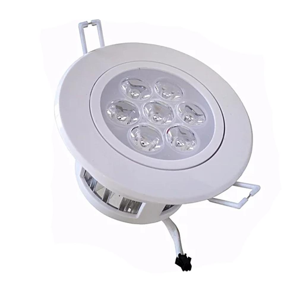 Spot LED 7W Redondo / Branco Frio