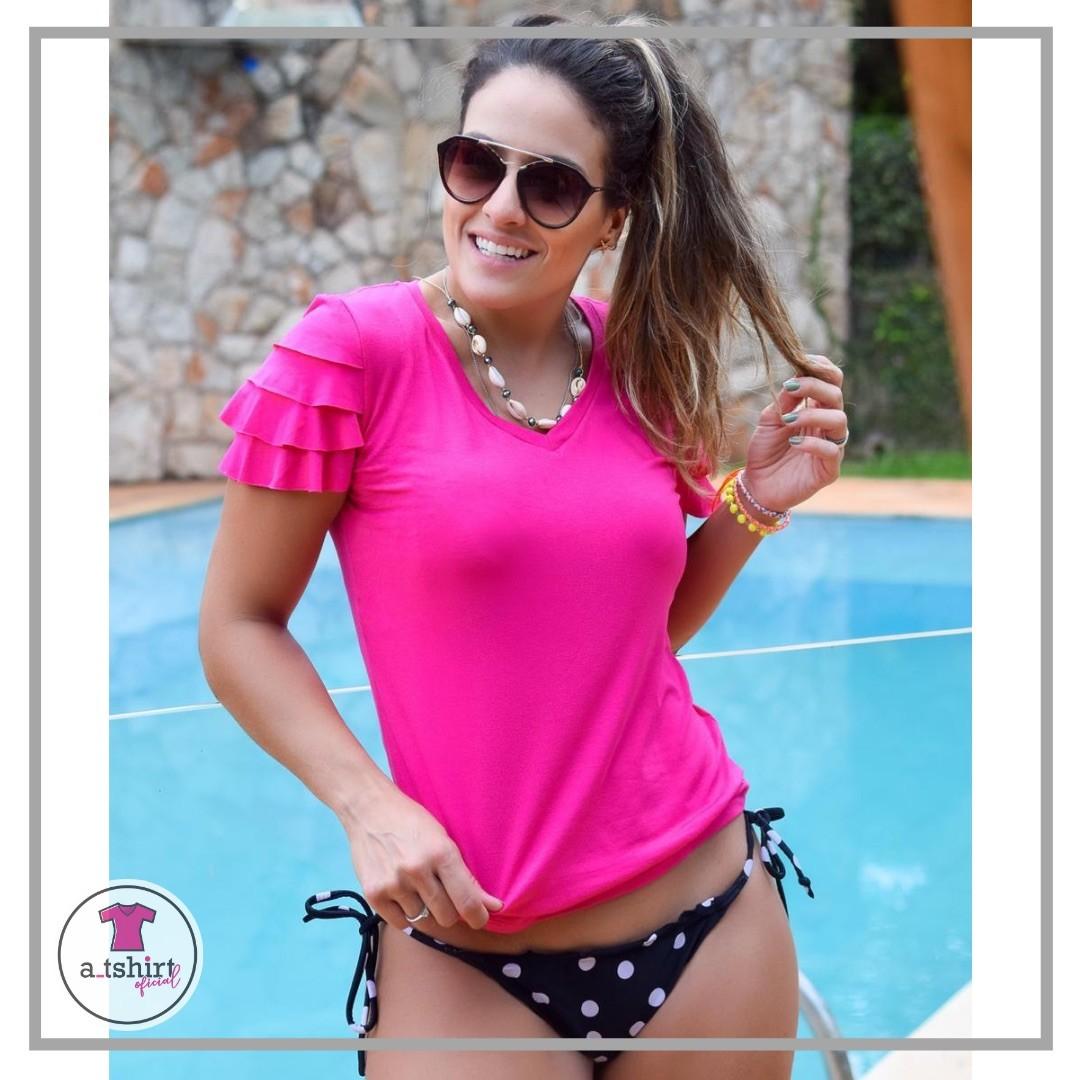 T-SHIRT BABADOS ROSA PINK