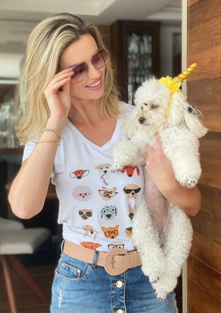 T-SHIRT ESTAMPA DOGS