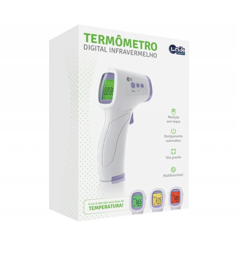 Termômetro Digital Infravermelho - Unik