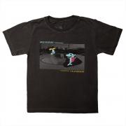 Camiseta Stone Chumbo Estampa Frontal Pista Skate Calif