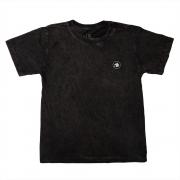 Camiseta Stone Preta Estampa Costas Coqueiro Calif