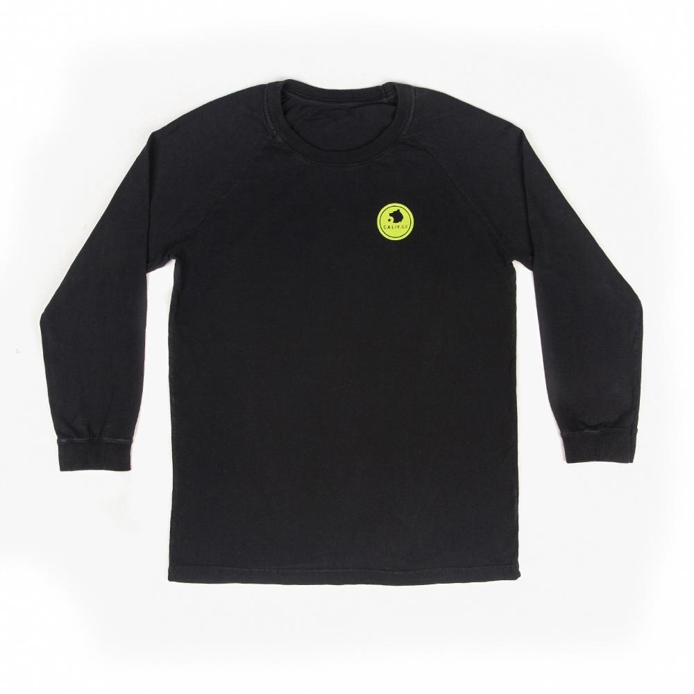 Camiseta Manga Longa Stone Preto