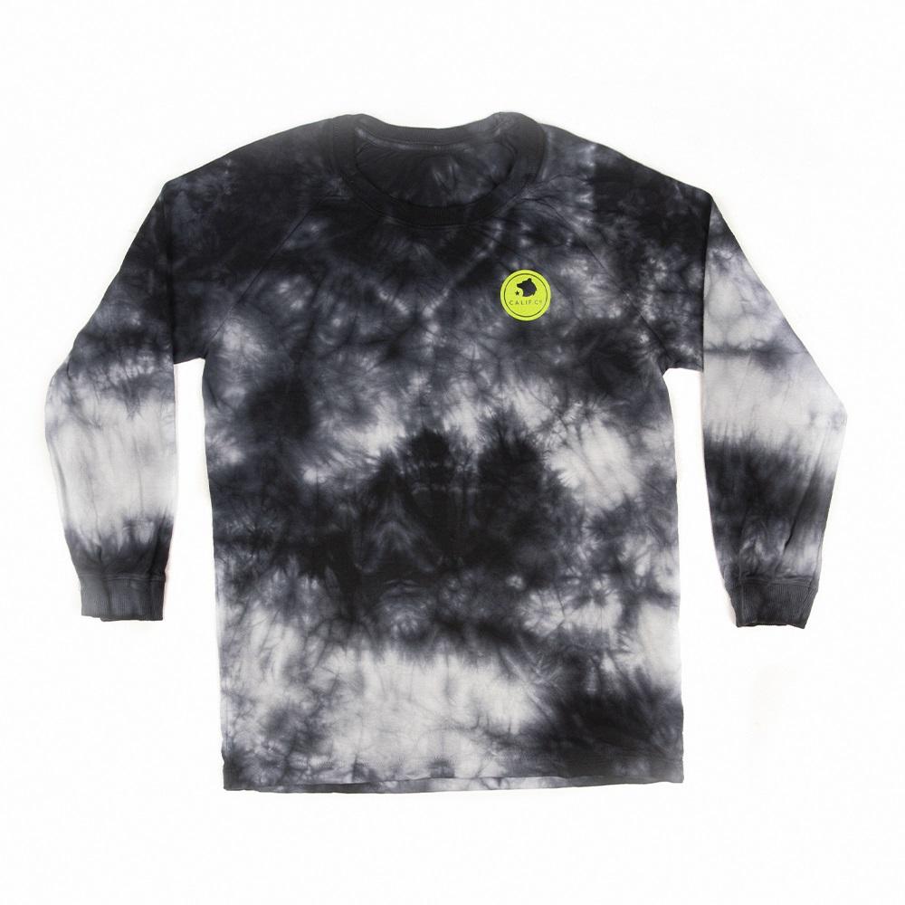 Camiseta Manga Longa Stone TieDye Preto