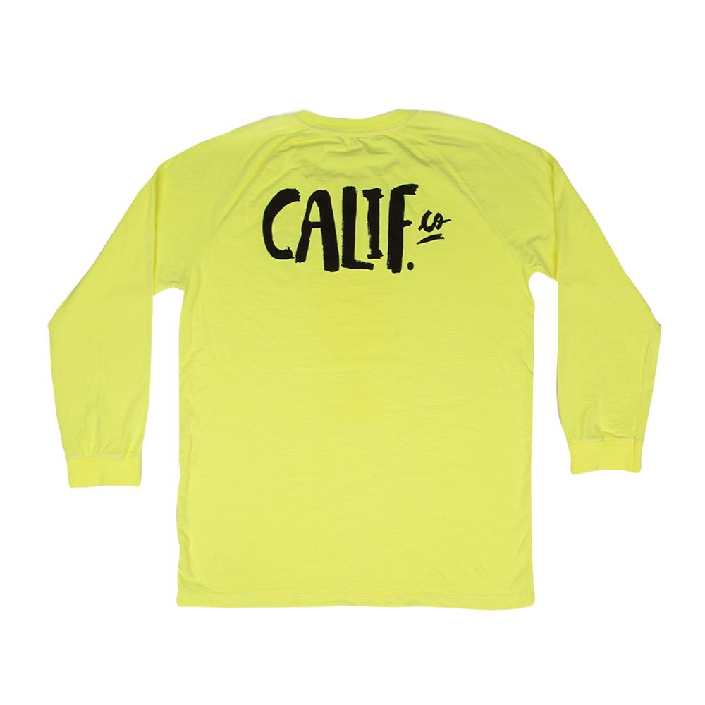 Camiseta Manga Longa Stone Verde Neon