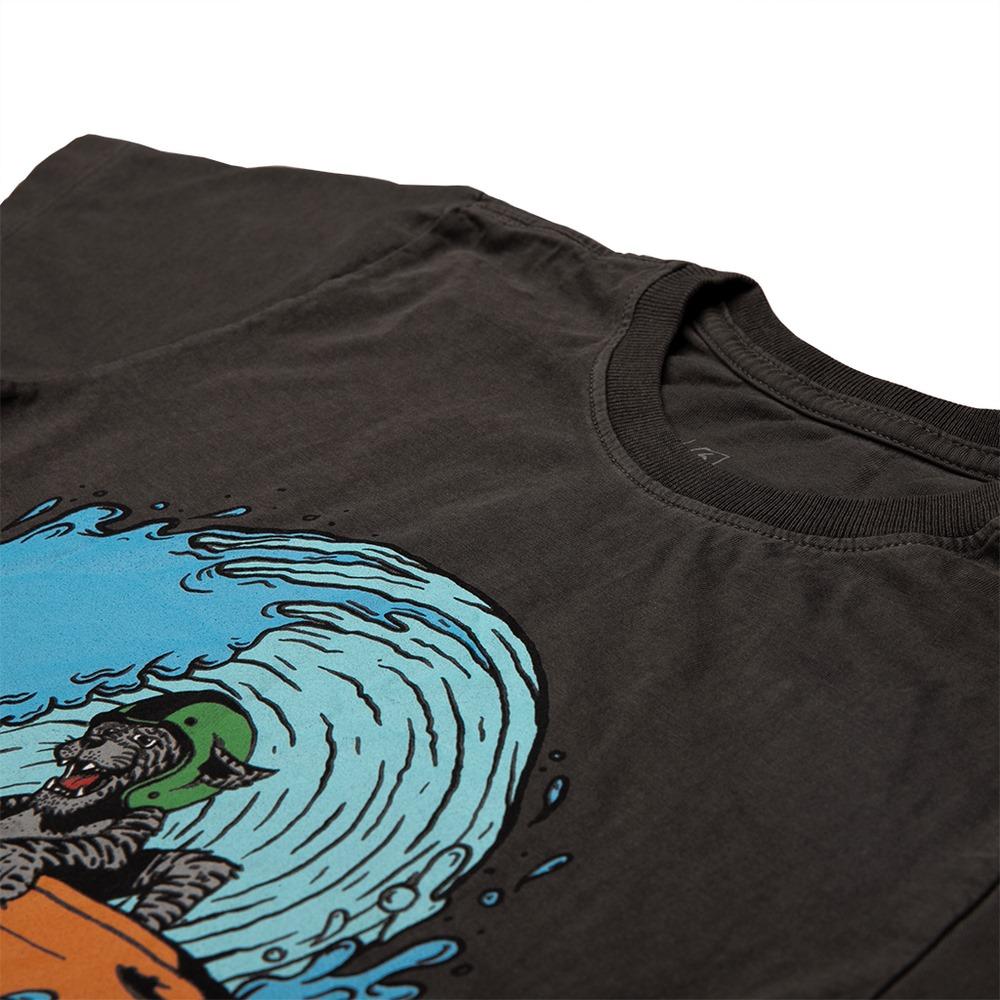 Camiseta Stone Chumbo Estampa Frontal Tigre Calif